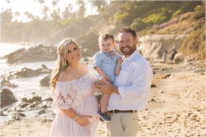 Laguna Beach Maternity | Sean & Shannon Beach Maternity