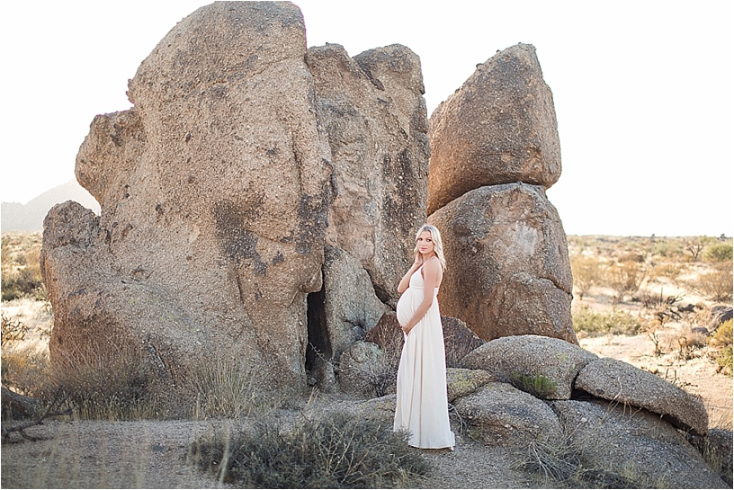 Scottsdale Maternity Photographer | Emma Desert Maternity